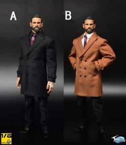 画像1: Toyscity 1/6 メンズ フォーマル ロングジャケット & スーツ セット 2種 TC-62031 *お取り寄せ