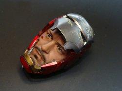 画像2: Custom  1/6  アイアンマン  テスト  マスク  フェイスプレート *お取り寄せ