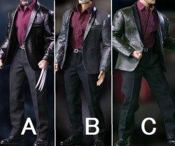画像1: SGTOYS 1/6 男性 レザー スーツ セット S02 leather suit set for men *お取り寄せ