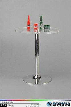 画像1: ZYTOYS 1/6 バー テーブル& ビール セット *お取り寄せ