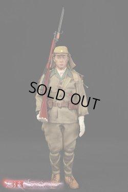 画像1: 3R/DID 1/6 WWII 大日本帝国陸軍 第32軍第24師団 林拓也 二等兵 フィギュア JP638 SFFS *予約