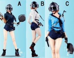 画像1: Manmodel 1/6 フライパンpubg 女性コンバットスーツ セット 3種 MM016 TBLeague *お取り寄せ