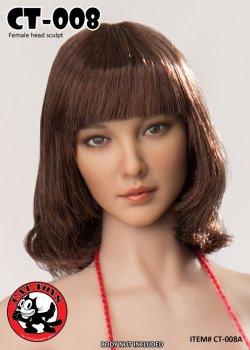 画像2: CATTOYS 1/6 アジア女性ヘッド 全4種 CT008 *お取り寄せ