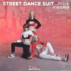 画像1: Fire Girl Toys 1/6 ストリート ダンス スーツ 3種 FG059 *お取り寄せ