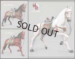 画像1: JSModel 1/6 戦馬 with 馬具 セット Battle Horse RN004/RN005/RN006 *予約