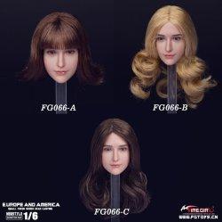 画像1: Fire Girl Toys 1/6 FG066 European and American sweet women 3種 *お取り寄せ