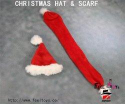 画像4: Feeltoys 1/6 サンタ帽子 & マフラー セット クリスマス FT X'mas