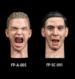 画像1: Facepoolfigure 1/6 男性 表情 ヘッド (FP-A-005 / FP-SC-001) *お取り寄せ