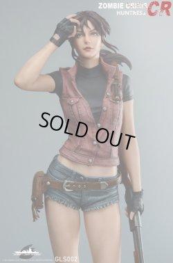 """画像1: Green Leaf Studio 1/4 Resident Evil Zombie crisis - Huntress """"CR"""" スタチュー GLS002 *予約"""