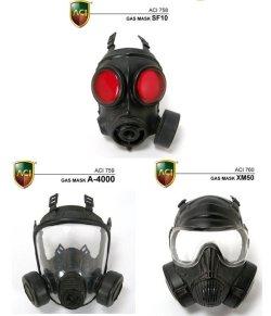 画像1: ACI 1/6 ガスマスク SF10 / A-4000 / XM50 *お取り寄せ