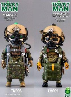 """画像1: FigureBase TRICKYMAN """"HARO ジャンパー"""" MARSOC アメリカ海兵隊武装偵察部隊 TM008 / アメリカ陸軍特殊部隊 TM009 アクションフィギュア *お取り寄せ"""