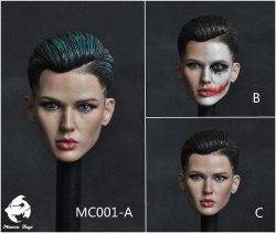 画像1: Manco Toys 1/6 ルビー・ローズ ヘッド / トリプルX Joker ジョン・ウィック MC001 *お取り寄せ
