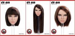 画像5: CATTOYS 1/6 アジア女性ヘッド 3種 CT019 *お取り寄せ