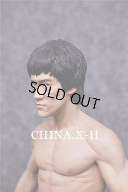 画像3: CHINA.X-H 1/6 BRUCE LEE Statue ヘッド2個 スタチュー CX-H04 *予約
