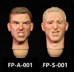 画像1: Facepoolfigure 1/6 男性 表情 ヘッド (FP-A-001/ FP-S-001) *お取り寄せ