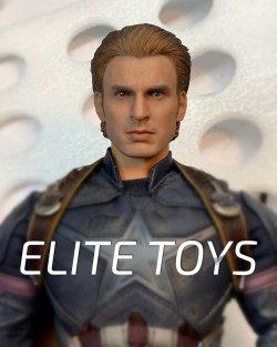 画像1: ELITE TOYS 1/6 キャプテン ヘッド  ET006  *予約
