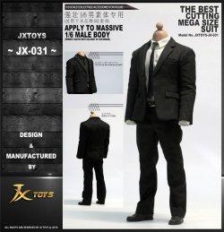 画像1: JXTOYS 1/6 メンズスーツ マッシブ マッスル ボディ/素体用 JX-031 *予約