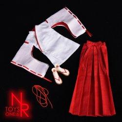 画像5: NRTOYS 1/6 巫女服 コスチューム セット NP20 *予約