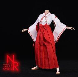 画像2: NRTOYS 1/6 巫女服 コスチューム セット NP20 *予約