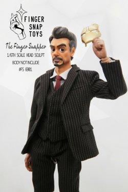 """画像2: Finger Snap Toys 1/6  カートゥーン ヘッド """"トニー"""" FS6901 *予約"""