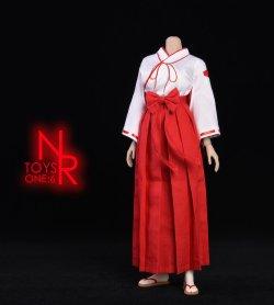 画像4: NRTOYS 1/6 巫女服 コスチューム セット NP20 *予約