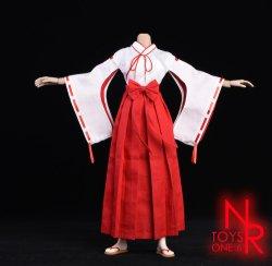 画像3: NRTOYS 1/6 巫女服 コスチューム セット NP20 *予約