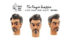 """画像3: Finger Snap Toys 1/6  カートゥーン ヘッド """"トニー"""" FS6901 *予約"""