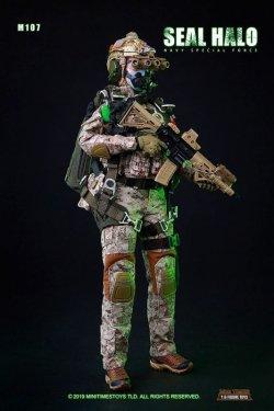 画像1: Mini Time Toys 1/6 Navy Special Force Seal HALO 女性隊員 アクションフィギュア MT-M017 *予約