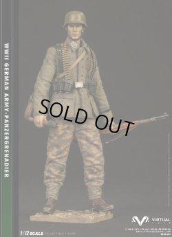 画像1: VTS 1/12 WWII ドイツ軍 装甲擲弾兵師団 上等兵 アクションフィギュア  VG001 *予約