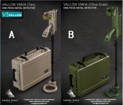 画像1: Green Wolf Gear 1/6 VALLON VMH4 Compact with Hard Case 2種 GWG-010 *予約