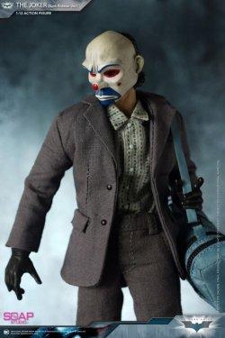 画像1: Soap Studio 1/12  ダークナイト ジョーカー 銀行強盗 Ver. バットマン アクションフィギュア FG008 *お取り寄せ