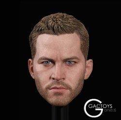 画像1: GACTOYS 1/6 欧米男性ヘッド ポール・ウォーカー似 GC028 *予約