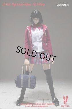 画像5: VERYCOOL  女子高生制服シリーズ《秋冬版》 衣装アクセサリーセットA/B/C 1/6  *予約