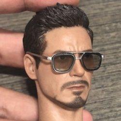 画像5: Custom 1/6 サングラス メガネ 眼鏡 メタル (ブラウン) トニー  *お取り寄せ