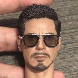 画像4: Custom 1/6 サングラス メガネ 眼鏡 メタル (ブラウン) トニー  *予約