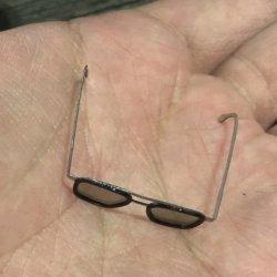 画像3: Custom 1/6 サングラス メガネ 眼鏡 メタル (ブラウン) トニー  *予約