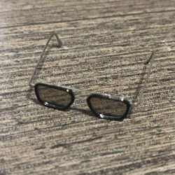 画像2: Custom 1/6 サングラス メガネ 眼鏡 メタル (ブラウン) トニー  *お取り寄せ