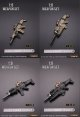 Mini Times Toys 1/6 MK16 FNSCAR Assault Rifle Weapon 4種 *予約