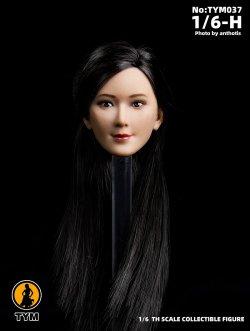 画像4: Technic Toys 1/6 アジア女性 ヘッド TYM037 *お取り寄せ