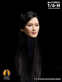 画像3: Technic Toys 1/6 アジア女性 ヘッド TYM037 *お取り寄せ