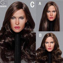 画像1: GACTOYS 1/6 欧米女性ヘッド Europe Female Star headsculpt 3種 GC029 *予約