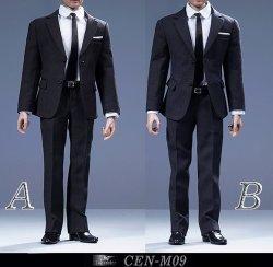 画像1: Toy Center 1/6 British suit for men メンズ スーツ 2種 CEN-M09 *お取り寄せ