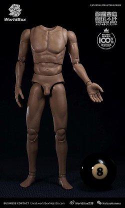 画像1: World Box 1/6 デュラブル男性素体 スリム ボディ ヘッドなし AT020 *予約