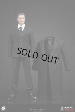 画像1: POPTOYS 1/6 メンズ ロングコート&スーツセット Housekeeper Dress Suit X11 *予約
