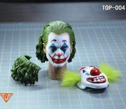 画像1: TOP 1/6 コメディアン ピエロ メイク ヘッド TOP-004 Joker  *予約