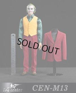 画像1: Toy center 1/6 CEN-M13 クラウン エクスクルーシブ レッド スーツ セット Joker *予約