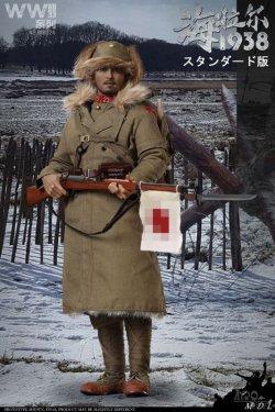 画像1: IQO Model 1/6 WWII 大日本帝国陸軍 第23師団捜索隊 海拉爾 ハイラル 1938 アクションフィギュア 2種 91002 *予約