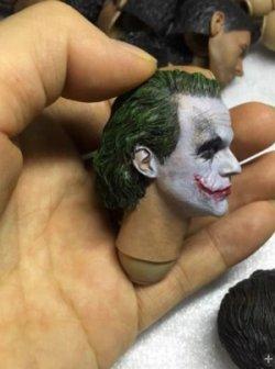 画像2: MIX-046 1/6 Joker Headsculpt / ジョーカー ヘッド  *予約