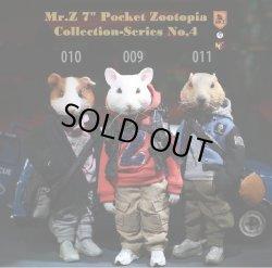 画像1: Mr.Z 『ポケット ズートピア コレクション』 シリーズ 4  *ハツカネズミ * モルモット * マーモット アクションフィギュア 3種 PZCS 009 010 011 *予約