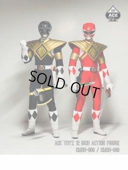 """画像3: Ace Toyz 1/6 Power Rangers パワーレンジャー """"Golden Red Hero"""" """"Golden Black Hero"""" アクションフィギュア CMSH-08 CMSH-09 *予約"""